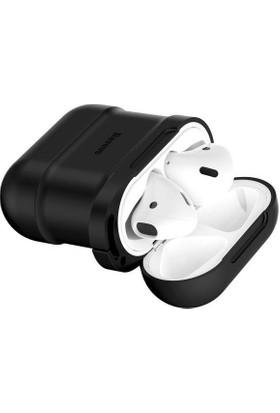 Baseus Apple AirPods Kulaklık Kılıfı ve Kulaklık Askısı