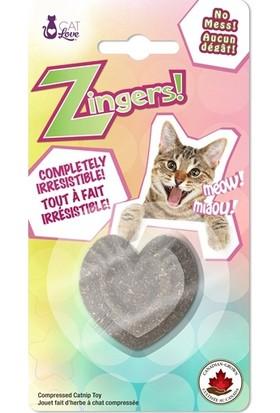 Cat Love Kalp Şeklinde Kedi Nanesi Oyuncak