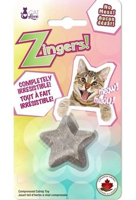 Cat Love Yıldız Şeklinde Kedi Nanesi Oyuncak