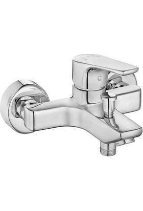 Eca Niobe Banyo Bataryası 482+Tema Quadro Tepe Duş Takım 2'Li Set