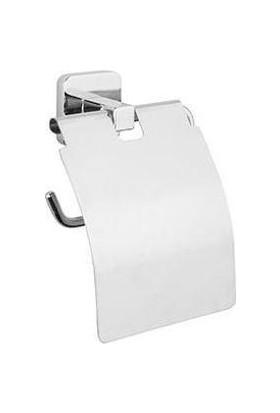 Tema Kare 3 Lü Set Yuvarlak Havluluk+Askılık+Tuvalet Kağıtlık