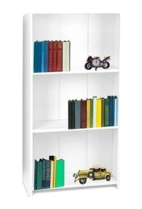 Platinreyon Mini Kitaplık Raf Kütüphane 3 Raflı Kitaplık