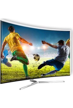 Etiasglass Samsung 55Nu7500 Curved Tv Ekran Koruyucu / Ekran Koruma Camı