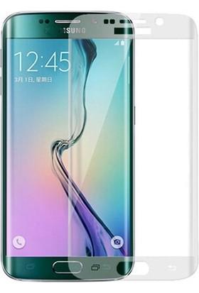 Bufalo Samsung S6 Edge (G925) Kavisli 3D Cam Ekran Koruyucu Şeffaf