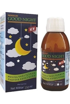Infanıum Good Night Bitkisel Şurup 150 ml (İnfantum Good Night)