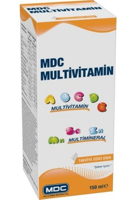 MDC Multivitamin Multimineral 150 ml