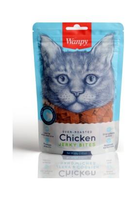 Wanpy Oven Roasted Tavuklu Kıtır Taneli 80 gr Kedi Ödülü
