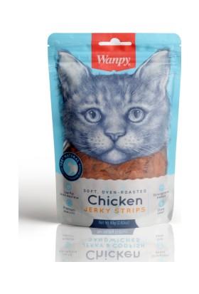 Wanpy Oven Roasted Tavuklu Yumuşak Taneli 80 gr Kedi Ödülü