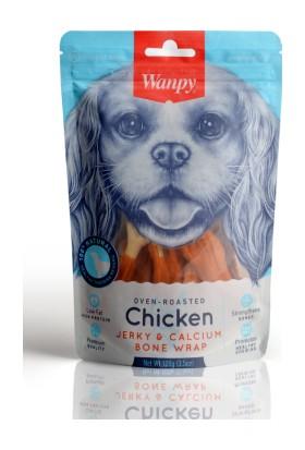 Wanpy Oven Roasted Tavuk Sargılı Kalsiyum Takviyeli 100 gr Köpek Ödülü