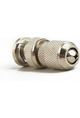 Ids Metal Bnc Konnektör Oksitlenmez A+ Güvenlik Kamerası Sistemleri İçindir