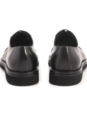 Mocassini Siyah 45217 Klasik - Oxford Ayakabı