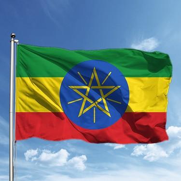 Özgüvenal Etiyopya Bayrağı 50 x 77 Fiyatı - Taksit Seçenekleri