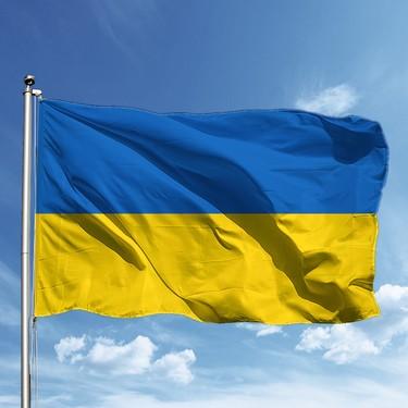 Özgüvenal Ukrayna Bayrağı 70 x 105 Cm Fiyatı - Taksit Seçenekleri