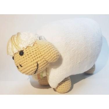 Yastık Olabilen Amigurumi Kuzu Oyuncak Bebek - n11.com   375x375