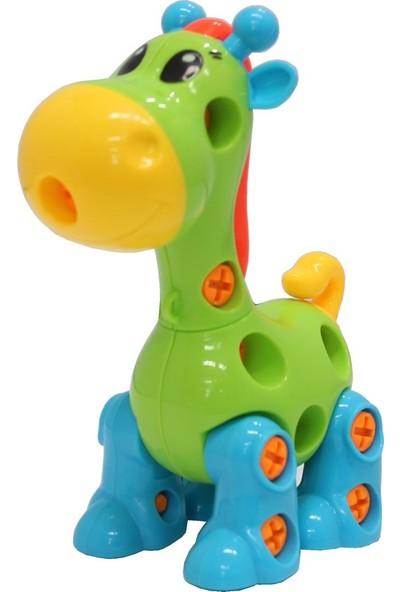 Can-Em Oyuncak Sök Tak Zürafa
