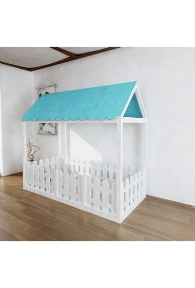 Facci Furniture Şık Montessori Çocuk Yatağı