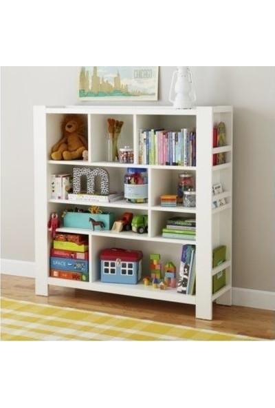 Facci Furniture Bölmeli Montessori Kitaplık