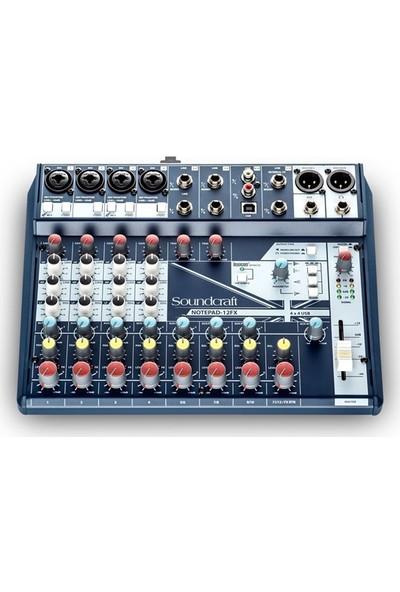 Soundcraft Notepad 12Fx - 12 Girişli Studyo Kayıt Mikseri