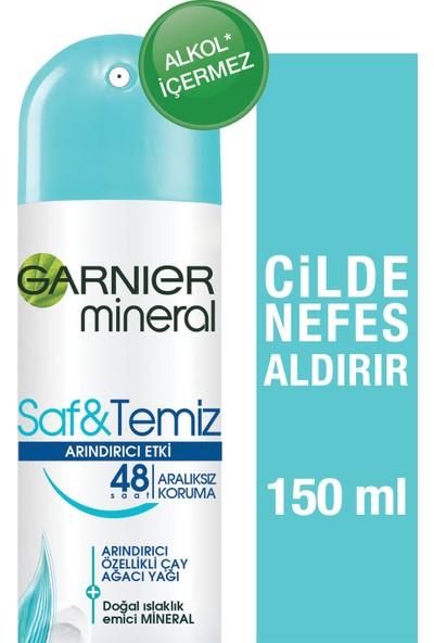 Garnier Mineral Saf&Temiz Sprey Kadın Deodorant
