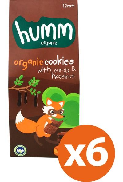 Humm Organic Keçiboynuzlu Fındıklı Kurabiye 6'lı paket
