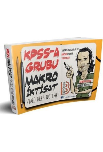 Benim Hocam Yayınları KPSS-A Grubu Makro İktisat Video Ders Notları - Mesut Güzelli