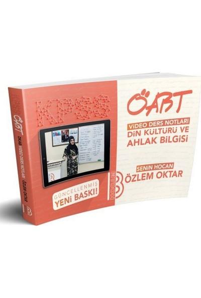 Benim Hocam Yayınları KPSS ÖABT Din Kültürü Ve Ahlak Bilgisi Video Ders Notları - Özlem Oktar