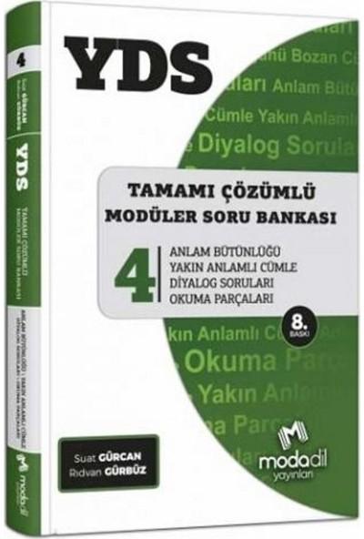 Modadil YDS Tamamı Çözümlü Soru Bankası Serisi 4