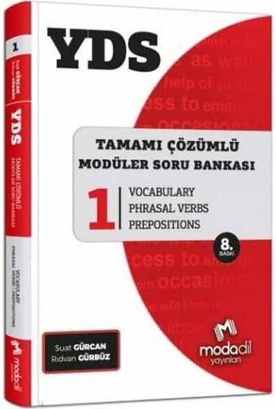 Modadil YDS Tamamı Çözümlü Soru Bankası Serisi 1 Vocabulary