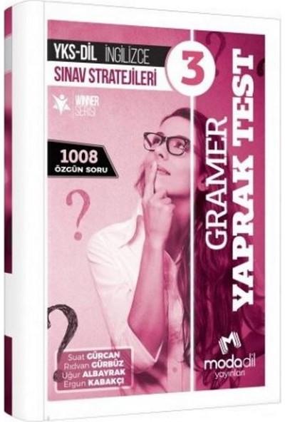 Modadil Yks Dil İngilizce Sınav Stratejileri 3 Gramer Yaprak Test