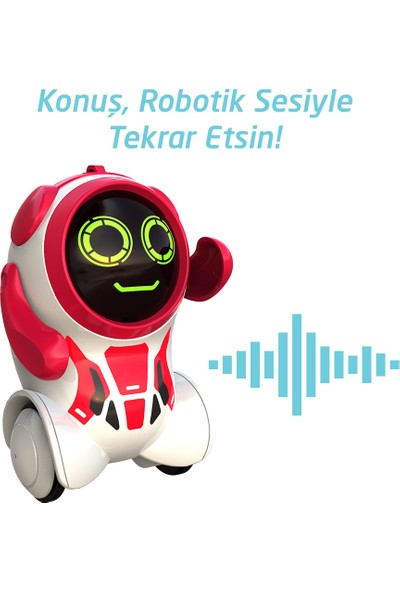 Silverlit Pokibot Robot Kırmızı