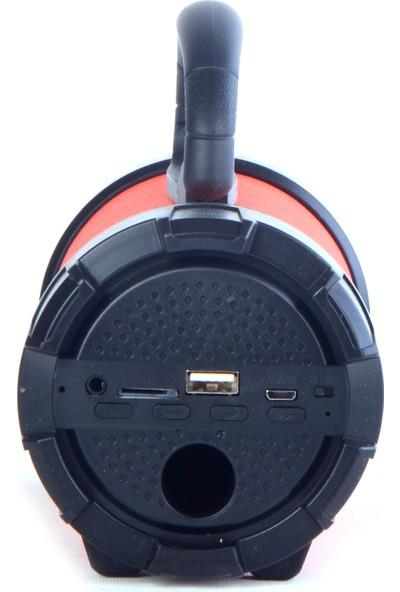 Unico F18 USB Hafıza Kartı Destekli Şarjlı Bluetooth Speaker Kırmızı