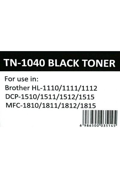 Newmark Brother TN-1040 Siyah Muadil Toner (Çipli)