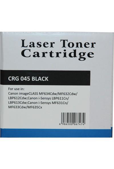 Newmark Canon CRG 045 Siyah Muadil Toner (Çipli)