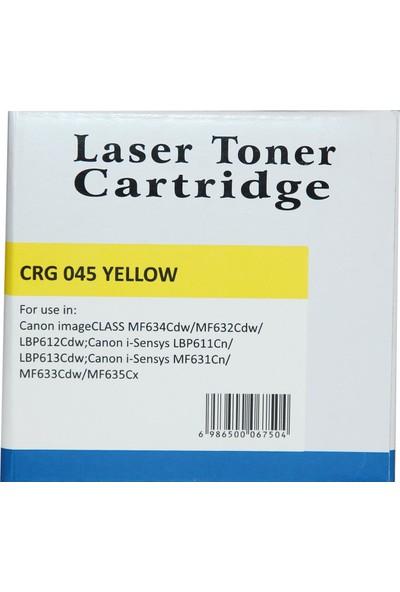 Newmark Canon CRG 045 Sarı Muadil Toner (Çipli)