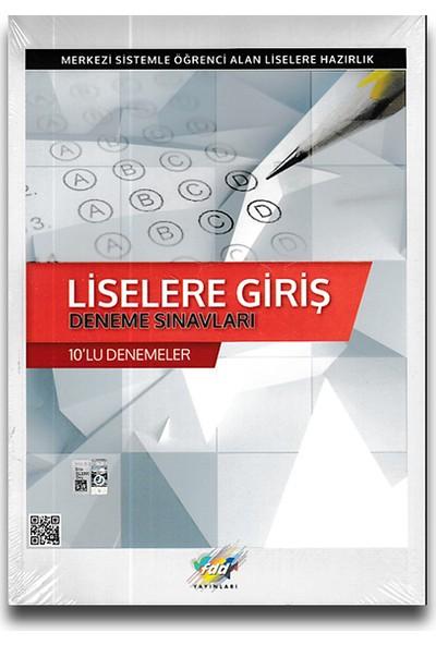 Fdd 8. Sınıf LGS Liselere Giriş 10'lu Deneme Sınavları
