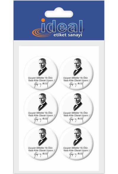 İdeal Etiket Atatürk - Özlü Sözler - Damla Etiket
