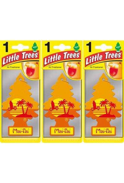 Little Trees Kağıt Koku Mai Tai 3'lü Paket