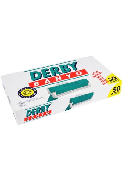 Derby Banyo Tıraş Bıçağı 50'li Kartela