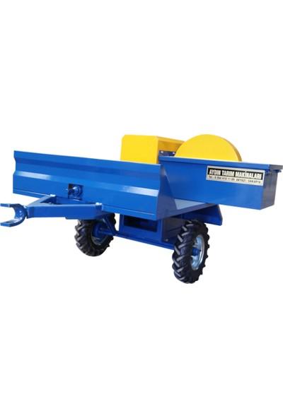 Aydınmaksan Dal Öğütme Makinası Çapalama Arkası