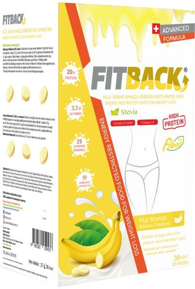 Fitback Kalorisi Kısıtlanmış Gıda - Muz Aromalı (15 Günlük)