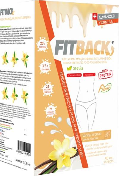 Fitback Kalorisi Kısıtlanmış Gıda - Vanilya Aromalı (15 Günlük)
