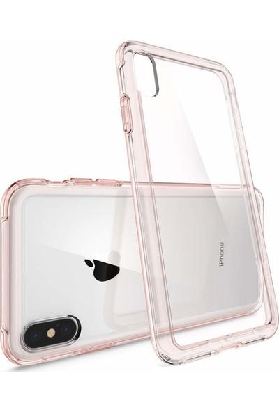 Spigen Apple iPhone XS Max Kılıf Crystal Hybrid Rose Crystal - 065CS25162