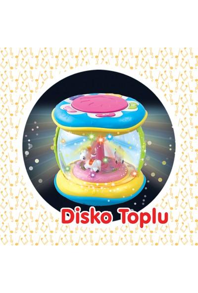 Birlik Oyuncak Mini Masalcı Davulcuk Pilli Müzikli Renkli Işıklı