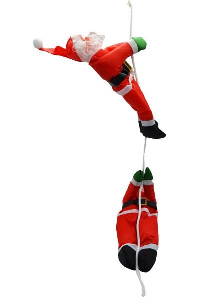 Cansüs 2Li Tırmanan Noel Baba Ca-1028 Yılbaşı Süsü