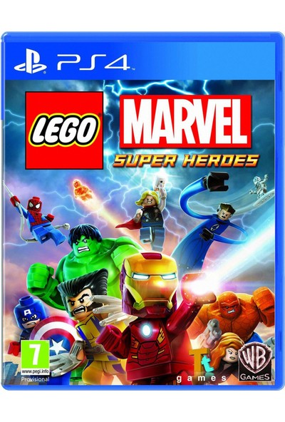 Lego Marvel Super Heroes PS4 Oyun