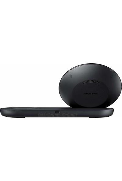 Samsung İkili Kablosuz Hızlı Şarj Cihazı (Siyah)-EP-N6100TBEGWW