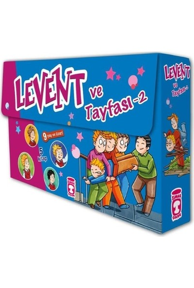 Levent ve Tayfası 2 Set (5 Kitap) - Mustafa Orakçı