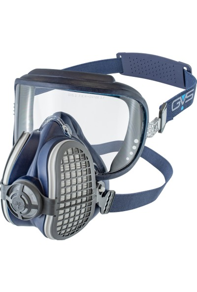 Gvs Elipse İntegra P3 R D Kombine Yarım Yüz Maske + 1 Çift Aktif Karbonlu Toz Filtresi