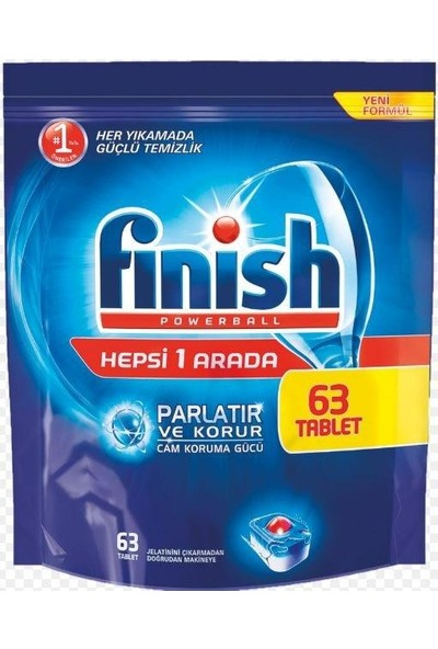Finish Hepsi Bir Arada Tablet 63 Adet 2'li