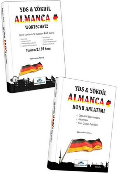 İrem Yayıncılık YDS YÖKDİL Almanca Konu Anlatımlı YDS YÖKDİL Almanca Wortschatz 2 Kitap